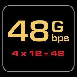 AudioQuest Pearl 48 HDMI kabelis