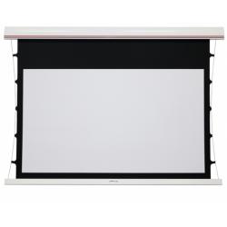 """Kauber 104"""" sieninis/lubinis ekranas su įtempėjais"""