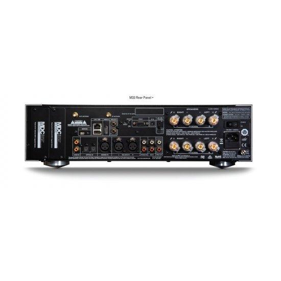 NAD M33 stereo stiprintuvas su tinklo grotuvu