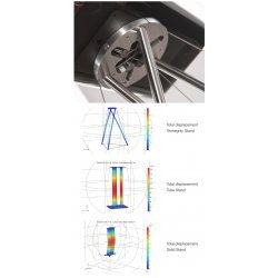 Q Acoustics Tensegrity with an Adapter Plate stovai kolonėlėms