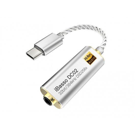 iBasso DC02 nešiojamas ausinių stiprintuvas su DAC