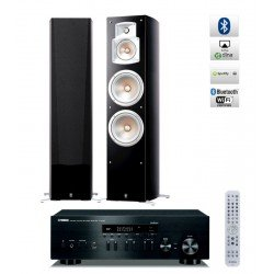 Yamaha R-N402D stereo stiprintuvas su Yamaha NS-777 kolonėlėmis