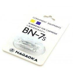 Nagaoka BN-7 tvirtinimo varžtai patefono galvutei
