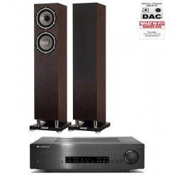 Cambridge Audio CX A80 stiprintuvas su Tannoy Revolution XT 6F kolonėlėmis