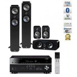 Yamaha RX-V685 namų kino stiprintuvas su Q Acoustics Q3050 kolonėlių komplektu
