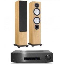 Monitor Audio Silver 6 su Cambridge Audio CX-A80