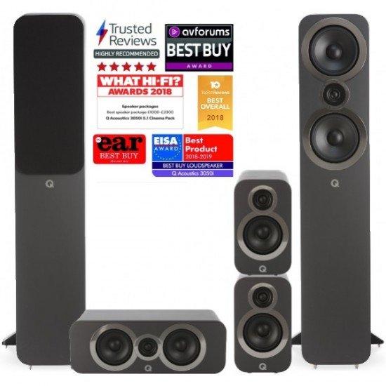 Q Acoustics Q3050i 5.0 kolonėlių komplektas