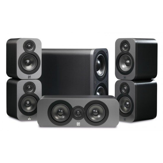 Q Acoustics Q3000 5.1 namų kino kolonėlių komplektas