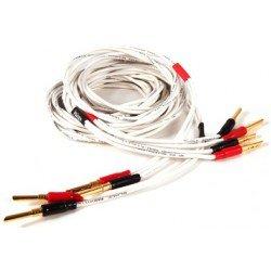 Black Rhodium Twist 2x3 m kolonėlių kabelis