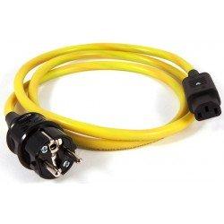 Black Rhodium Fusion Schuko - IEC 1,25 m maitinimo kabelis