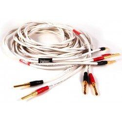 Black Rhodium Twirl 2x2,5 m kolonėlių kabelis