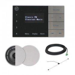 Systemline E100 įmontuojama garso sistema