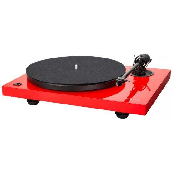 Music Hall mmf-2.3 LE raudonas plokštelių grotuvas